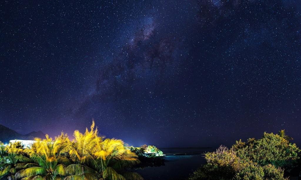 Остров Маврикий - ночь в Ле Морне