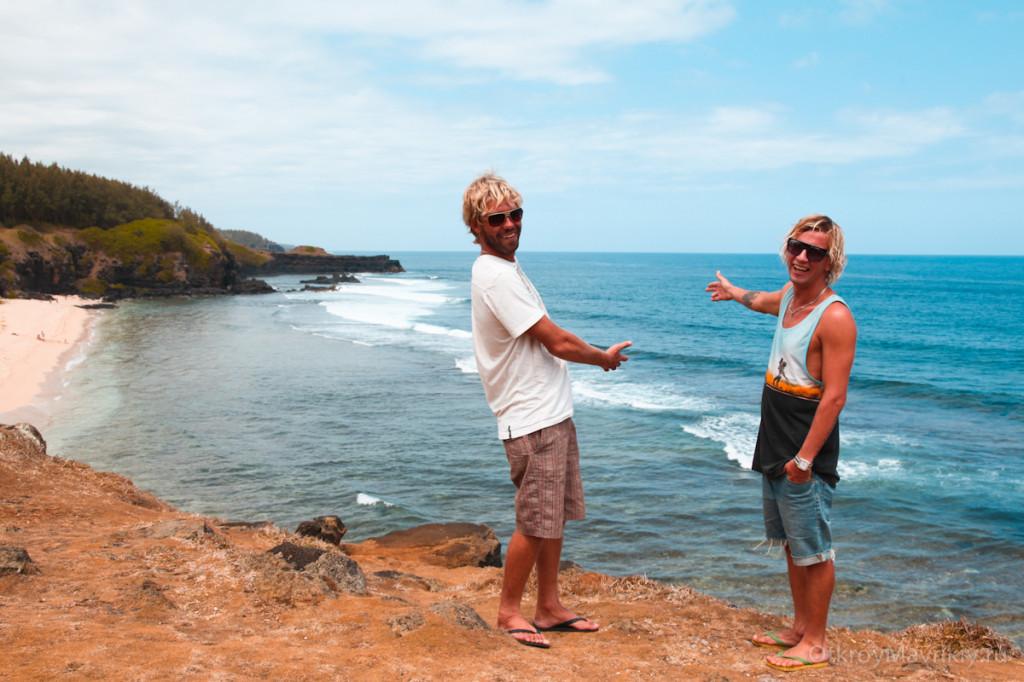 Гри Гри — это самая южная точка острова. Место известно как «Плачущая скала». маврикий экскурсии отзывы и цены