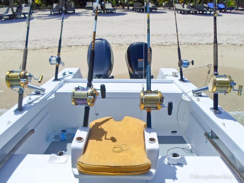 Оснащение лодки