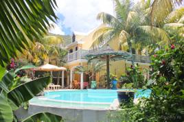 """""""Махаон"""" вилла с бассейном возле пляжа на Маврикии"""