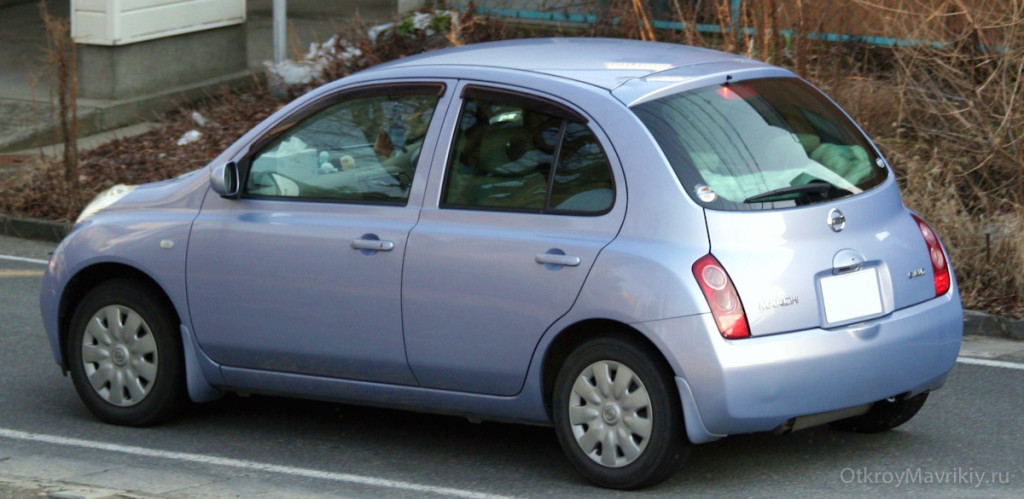 Nissan March (2004-2007)