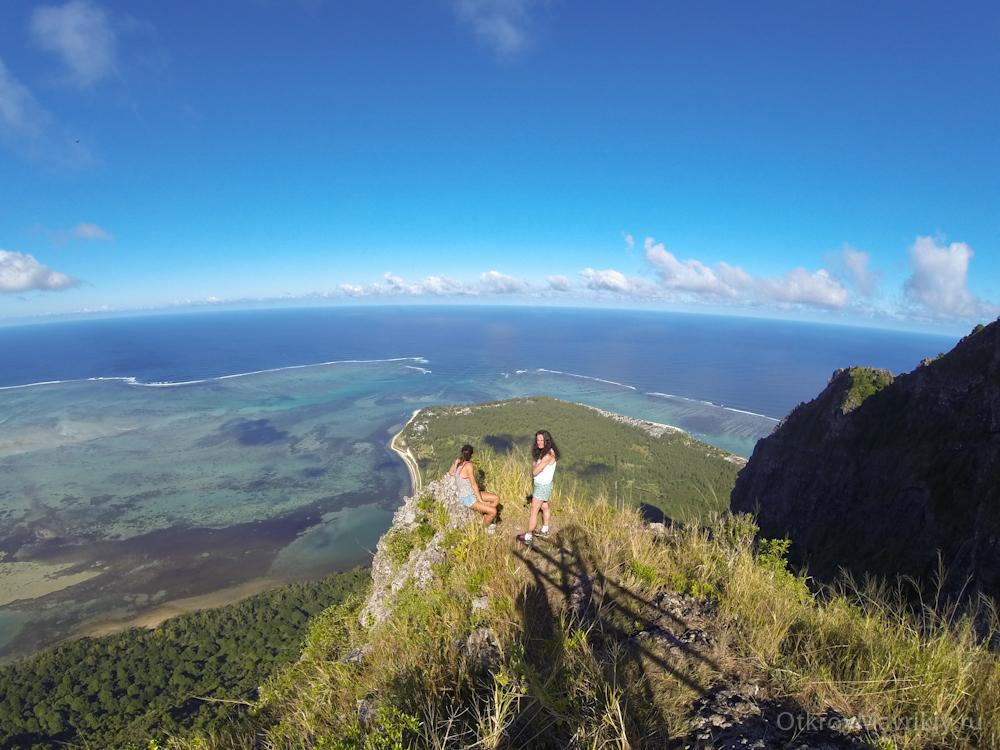 На вершине горы ЛеМорн - Маврикий