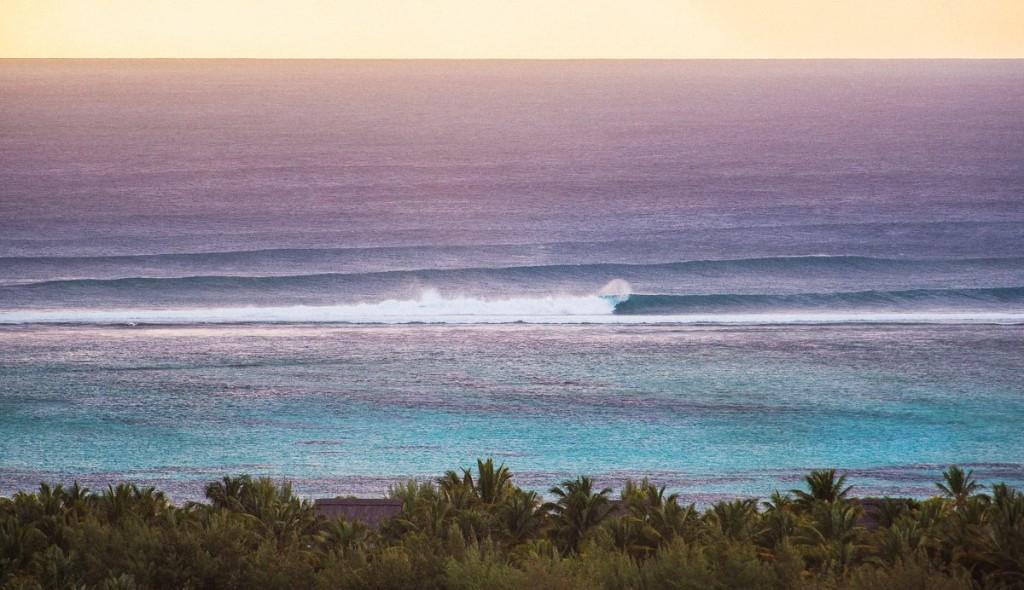 Серфинг на пустых и хороших волнах