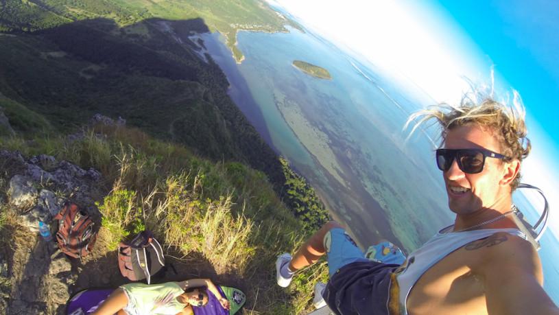 На вершине горы Ле Морн - Маврикий