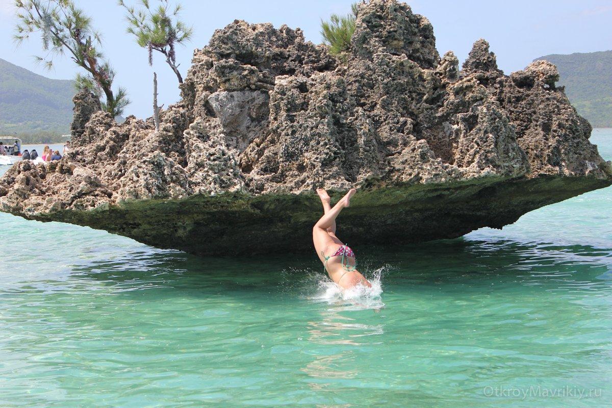 Риф у Бенитье на Маврикии