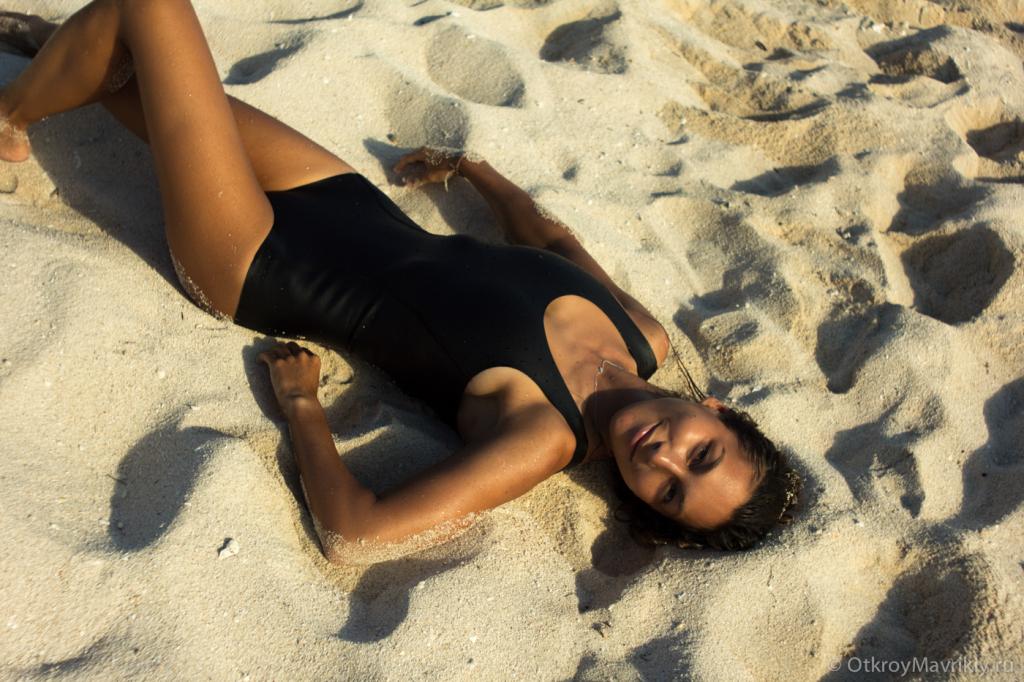 Солнце, пляж и океан