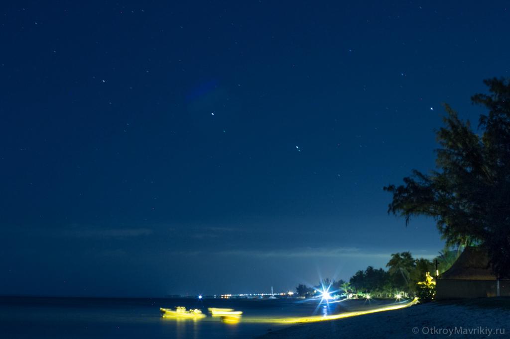 Тропические ночи под звездами