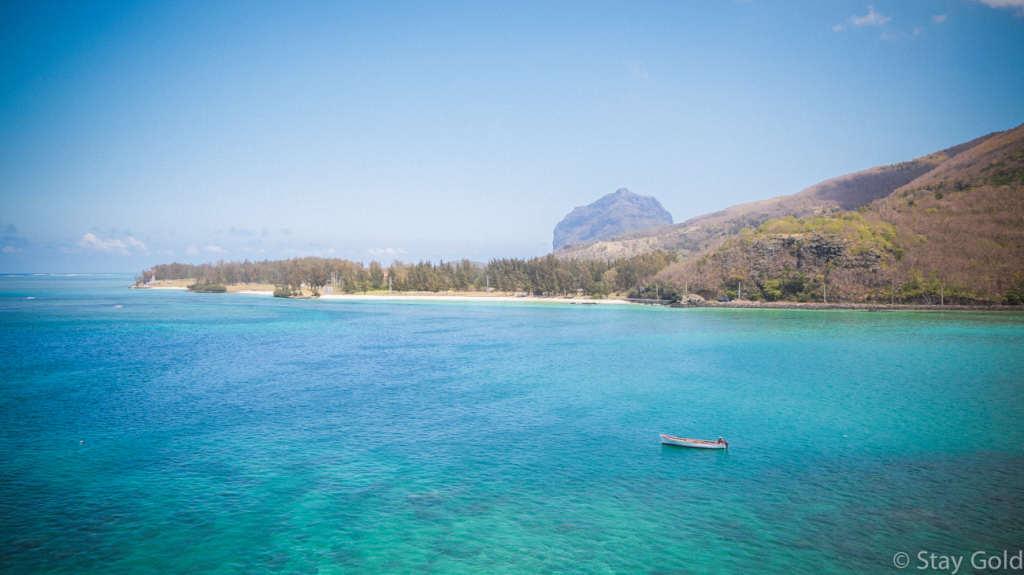Дорога у побережья, Маврикий