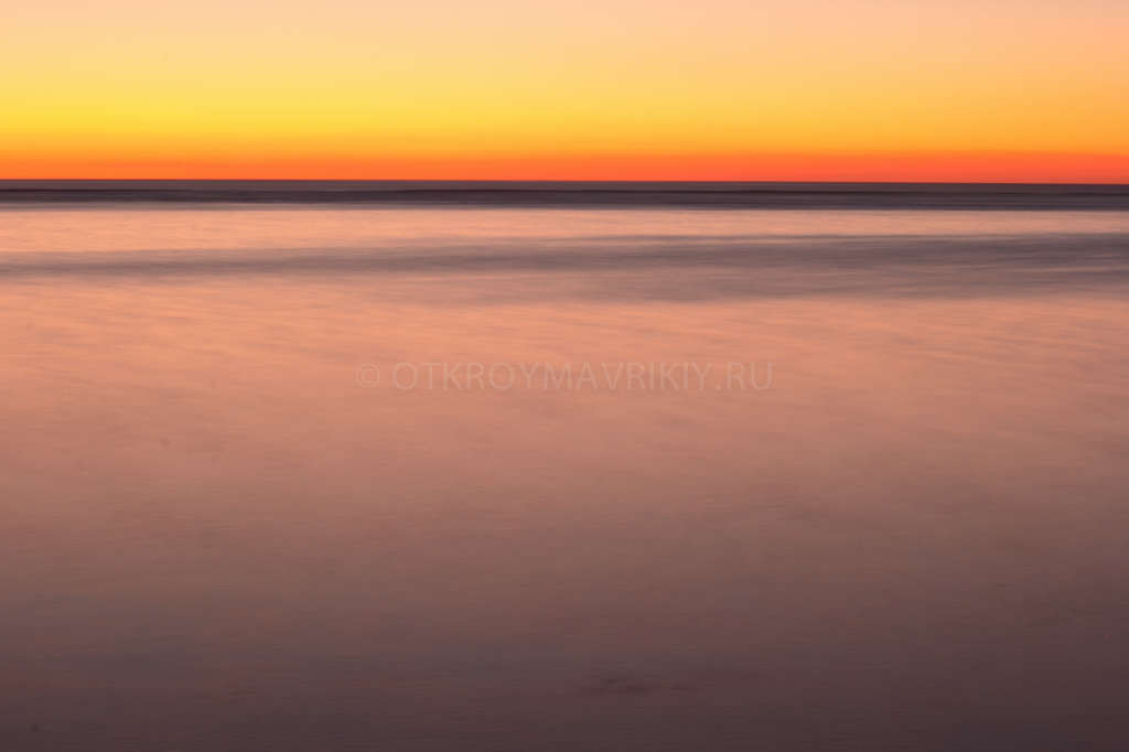 Закат в Ле Морне, Маврикий