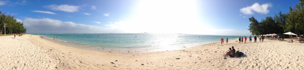 Пляж флик эн флак Маврикий
