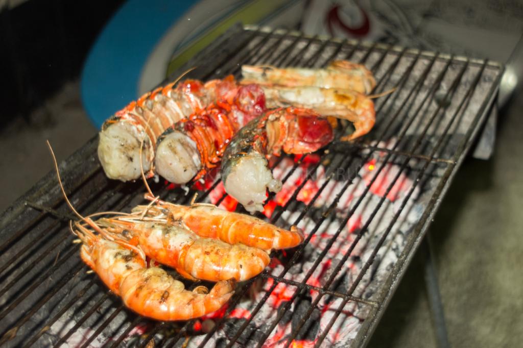 морепродукты на Маврикии