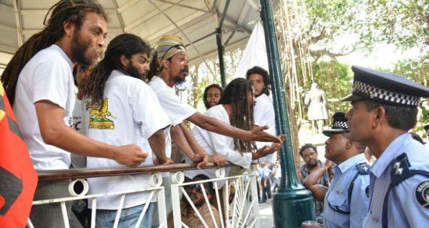 Раста на Маврикии