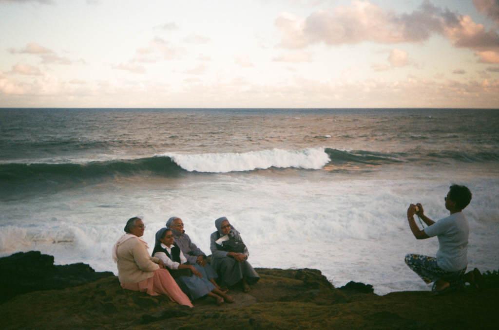 "Монашки на плачущей скале ""Гри Гри"", остров Маврикий"