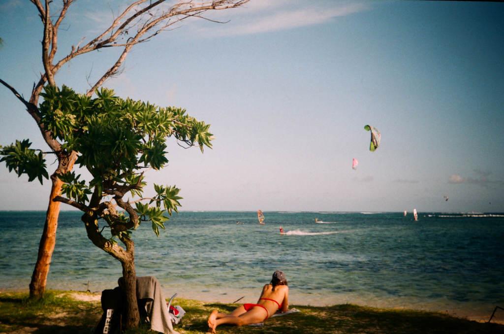 Вид на лагуну Ле Морне, Маврикий