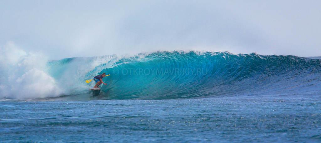 Кайт и серф лагерь на острове Маврикий. SUP серфинг