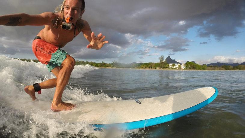 Серфинг на Маврикии. Тамарин