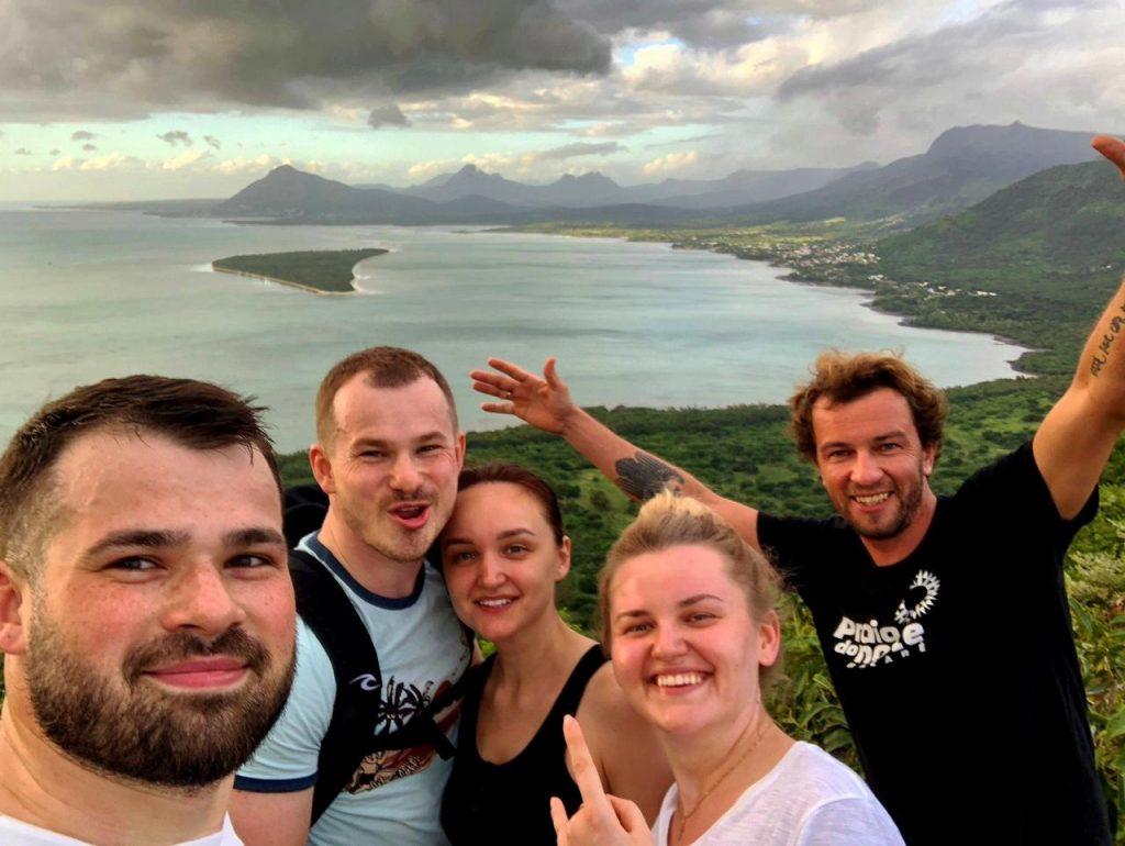 Хайкинг на Маврикии - Ле Морне