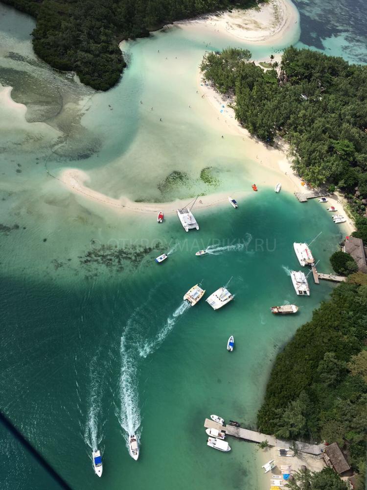 Маврикий полет гидроплан вертолет