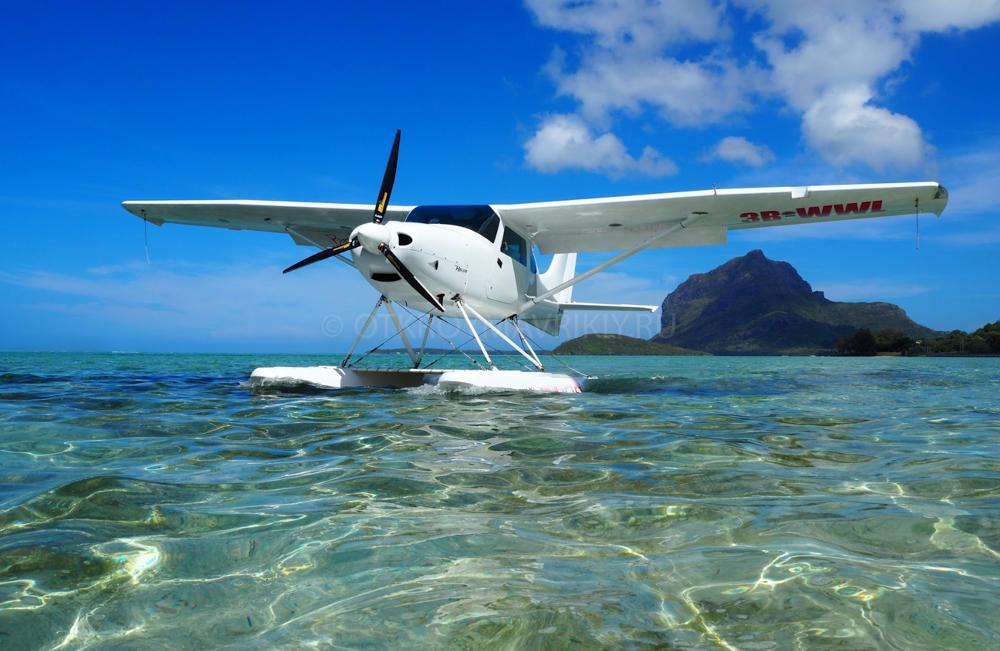 Маврикий полет гидроплан