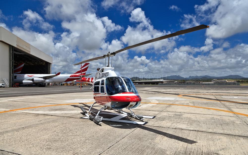 Маврикий вертолет прогулка