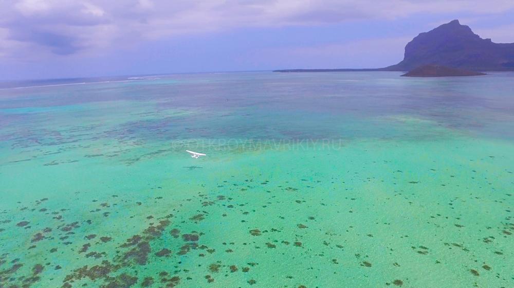 полет Маврикий гидроплан